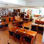 Dining at Sea salt Restaurant